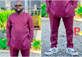 NDC's Otukonor Trolled For Wearing Kaftan And Sneakers » EOnlineGH.Com